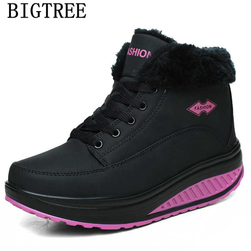 Yarım çizmeler kadınlar için tasarım ayakkabı moda kar botları kadın platform ayakkabılar tasarımcı deri çizmeler kadın rahat ayakkabılar marka