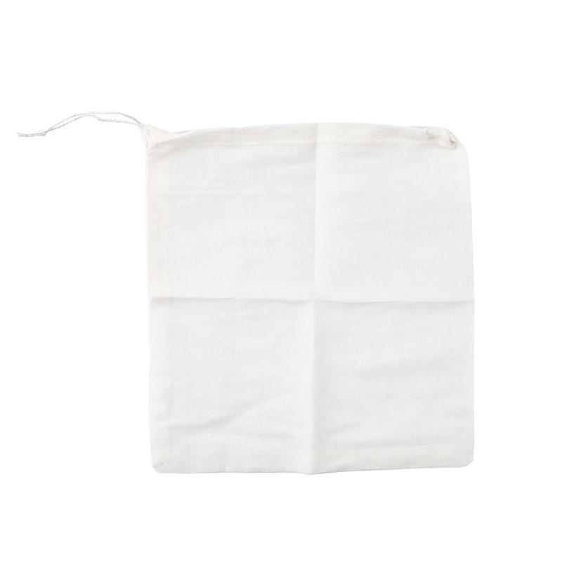Drawstring filter bag soup bag brine bag dregs seasoning bag kitchen reusable in Colanders Strainers from Home Garden