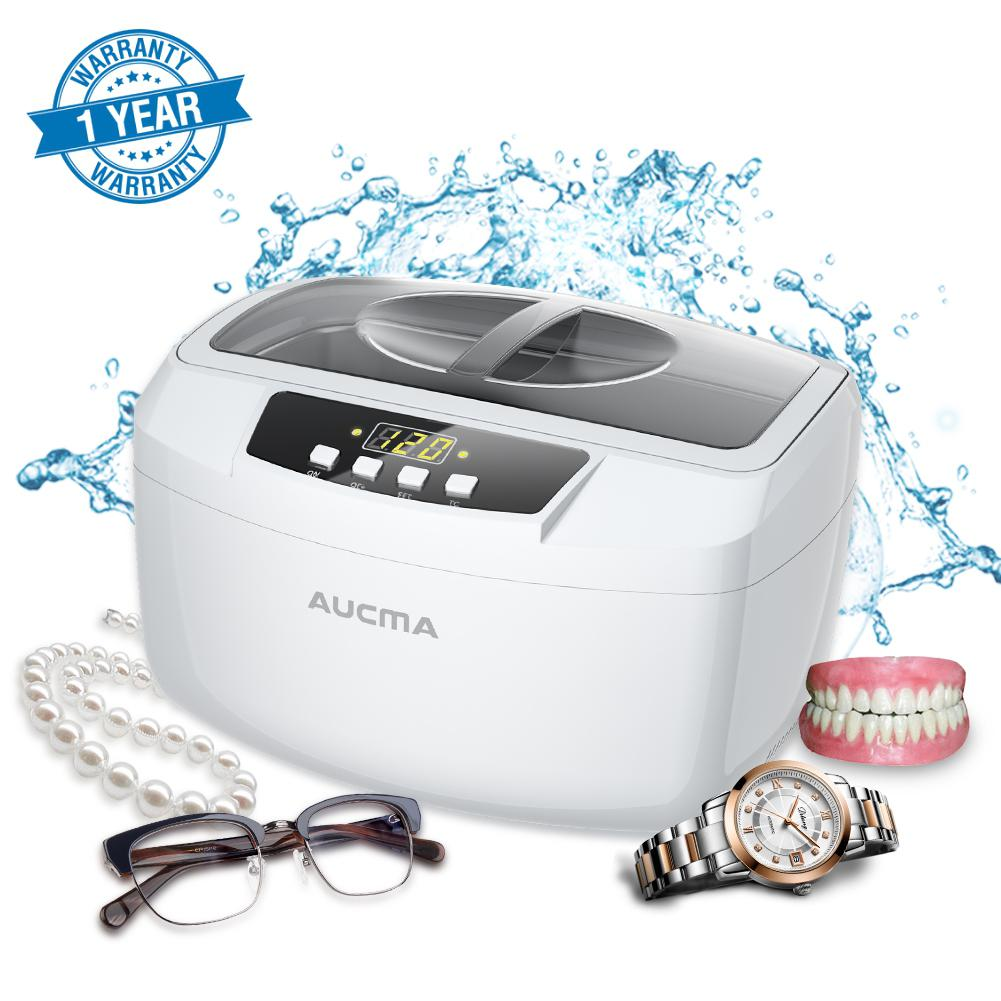 Adoolla 2.5L /Ultrasonic Cleaners Large Capacity With Timer LED Display Ultrasonic Washing Machine Watch Glasses Ultrasound Bath sleeping pillow plush toys stuffed animals doll rabbit cute gifts oyuncak baby soft toys peluche kawaii pillow for kids 60g0635