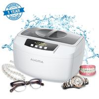 Adoolla 2.5L /Ultrasonic Cleaners Large Capacity With Timer LED Display Ultrasonic Washing Machine Watch Glasses Ultrasound Bath