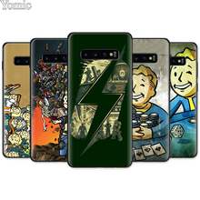 game Fallout Black Silicone Case for Samsung Galaxy S10e S10 S8 S9 Plus S7 Note 8 9 A40 A50 A70 TPU Soft Phone Cover Coque Shell(China)
