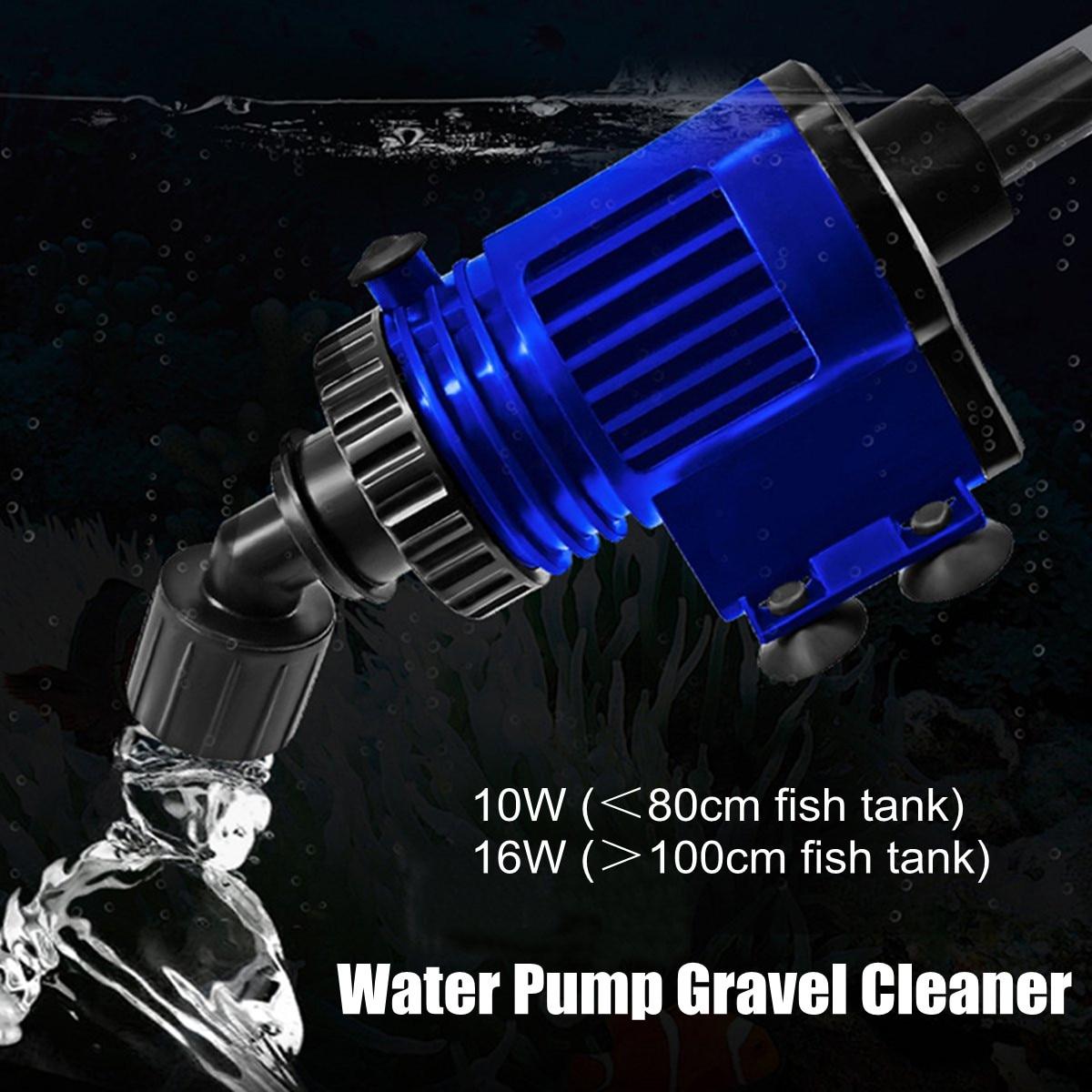 Aquarium Electric Vacuum Cleaner Gravel Fish Tank Water