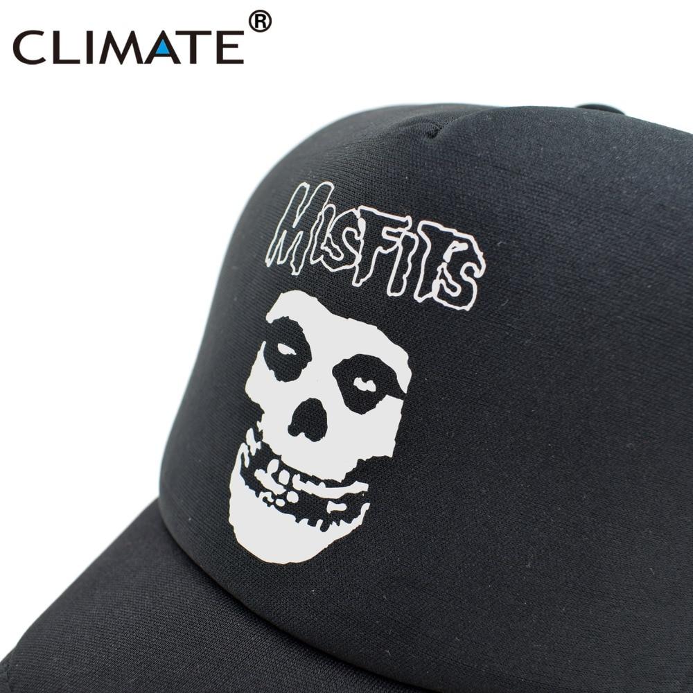 IKLIM Misfits Band Skulls Summer Cool Mesh Caps The Misfits Punk - Aksesori pakaian - Foto 2