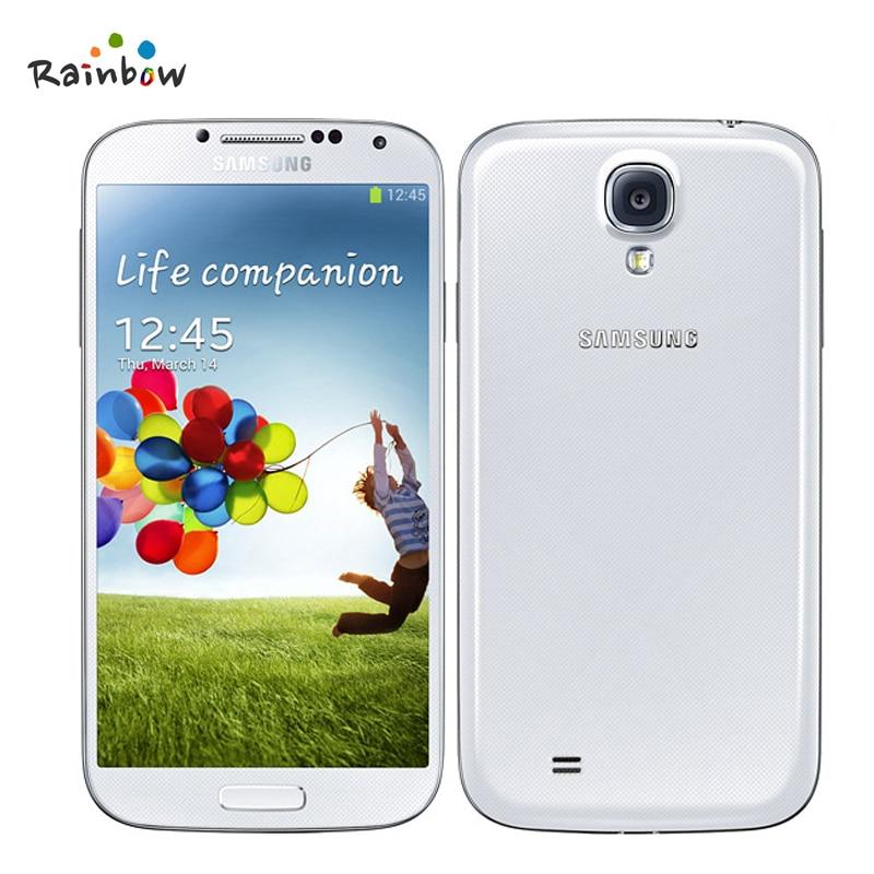 "Original Unlocked Samsung GALAXY S4 Mobile Phone i9500 i9505 2GB RAM 16GB ROM 5.0"" inch Refurbished Cell Phone With 13MP Camera"