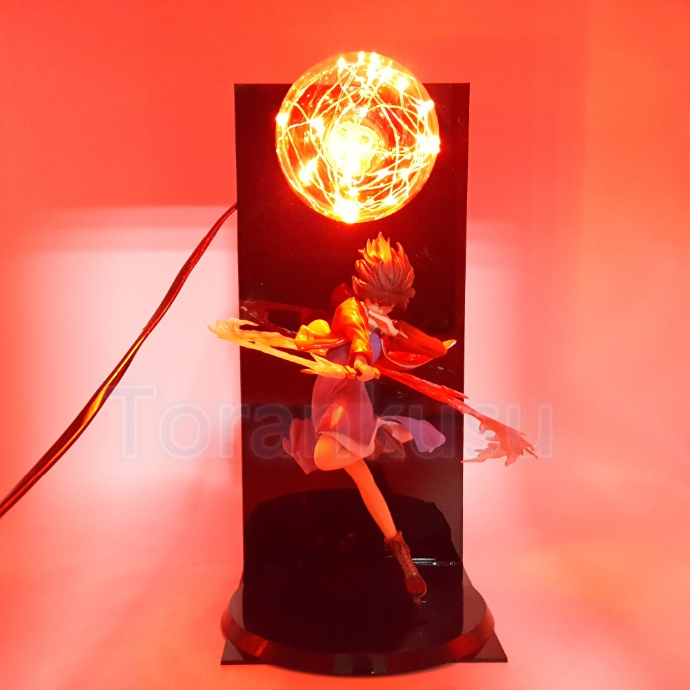 Kara no Kyoukai Action Figure Ryougi Shiki Red Flash Ball DIY Display Model Set Toy Ryougi Shiki Garden of Sinners Doll DIY131 world of warcraft wow pvc action figure display toy doll dwarven king magni bronzebeard