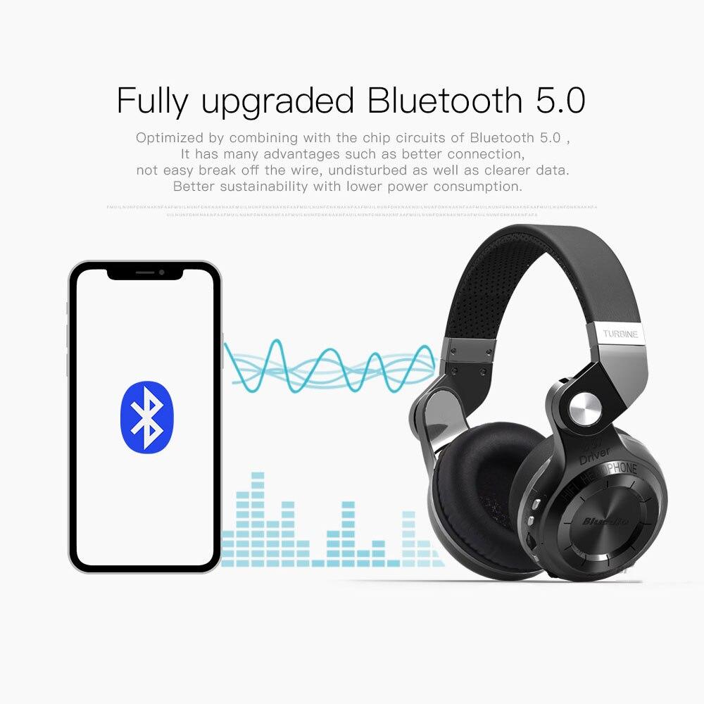 Bluedio T2 Bluetooth sans fil pliable casque avec Mircorphone 3d son Original casque pour téléphone portable pour Xiaomi écouteur - 3