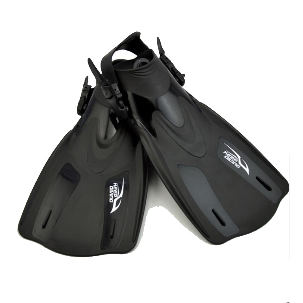 Keep Diving Professional Scuba Diving Equipment Fins Short Flippers Snorkeling Shoes Men's Women's Free Swim Training Mermaid
