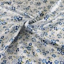 Tilda Floral Satin Fabric Soft Scarf Charmeuse Material