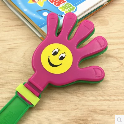 Hand Clap Toys Hand Soccer Football Games Maker Cheering Trumpet Refueling Artifact Activity Cheering  Noise Maker for Children