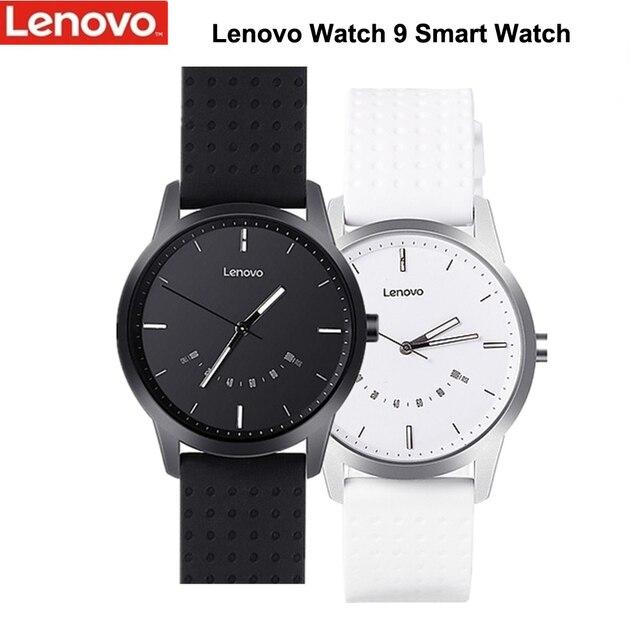 מקורי Lenovo שעון 9 חכם שעון עמיד למים יישור זמן טלפון שיחות להזכיר חכם שעון גברים עבור אנדרואיד Smartwatch