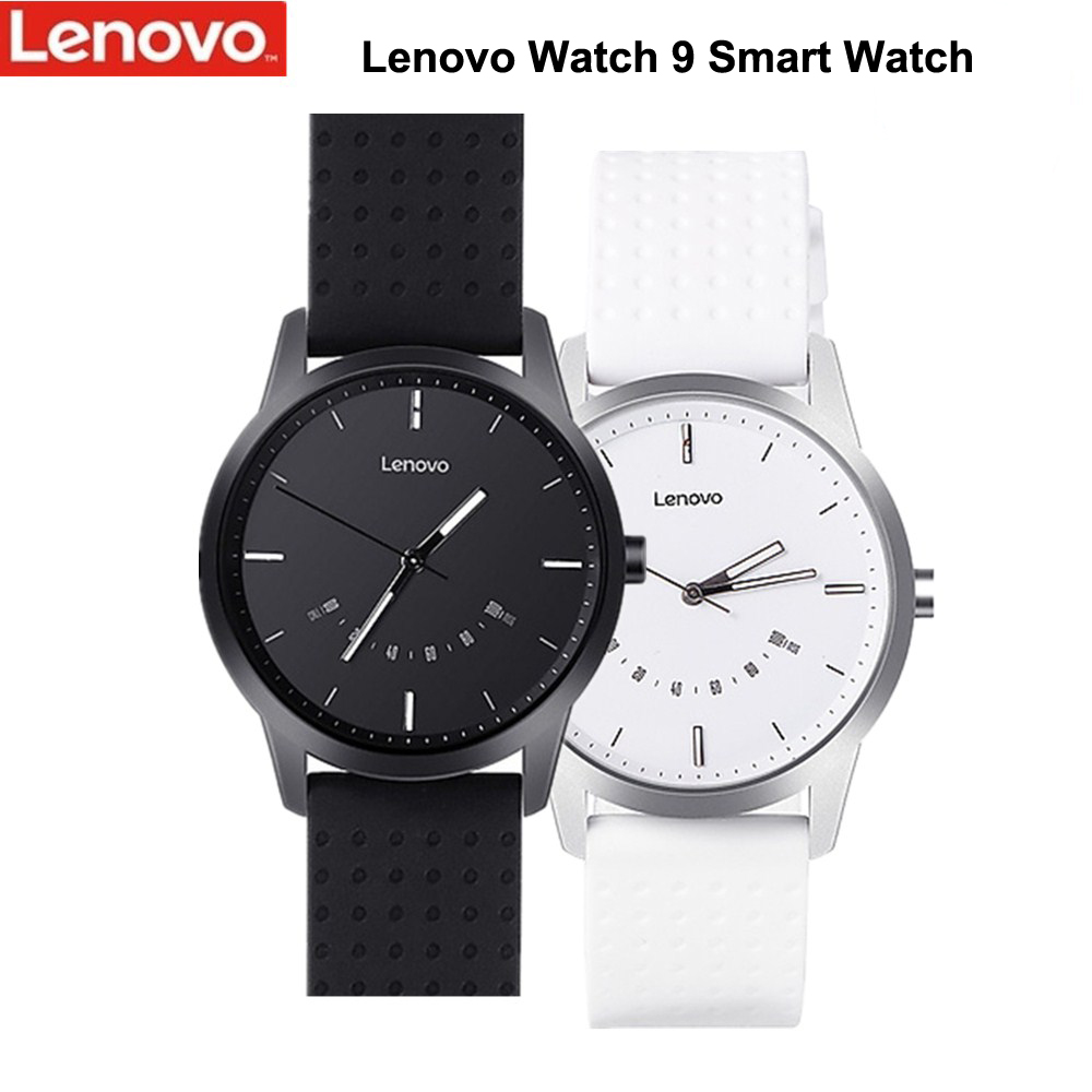 Оригинальные Смарт-часы Lenovo Watch 9, водонепроницаемые часы с функцией выравнивания времени, напоминанием о телефонных звонках, мужские Смарт-...
