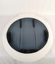 625mm Diameter Round Marine Grade Nylon Boat Deck Hatch Window With Tempered Glass and Trim Ring