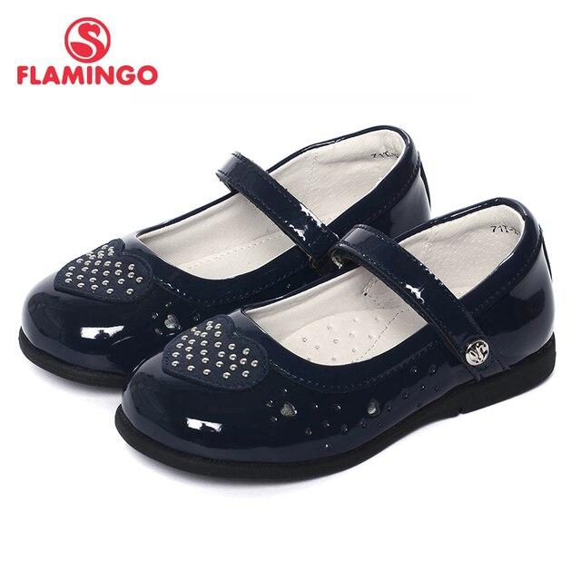Фламинго Новинка 2017 года Дизайн прибытие Весна и Летний Лидер продаж Повседневная обувь из мягкой кожи с ремешком на щиколотке для девочек открытые туфли 71t-xy-0117