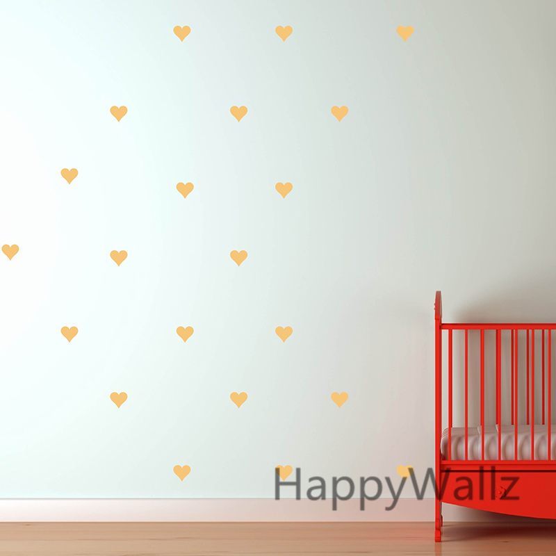 Aliexpress.com : Buy Heart Wall Sticker Baby Nursery Love Heart Wall Decal  Kids Room DIY Easy Wall Stickers Removable Wall Decoration P3 From Reliable  Wall ...