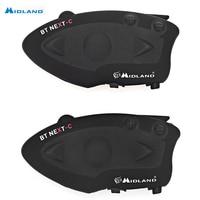 MIDLAND Paired BT NEXT Bluetooth Motorcycle Motorbike Helmet Intercom Headset Water Resistant Interphone Talking Distance 1600M