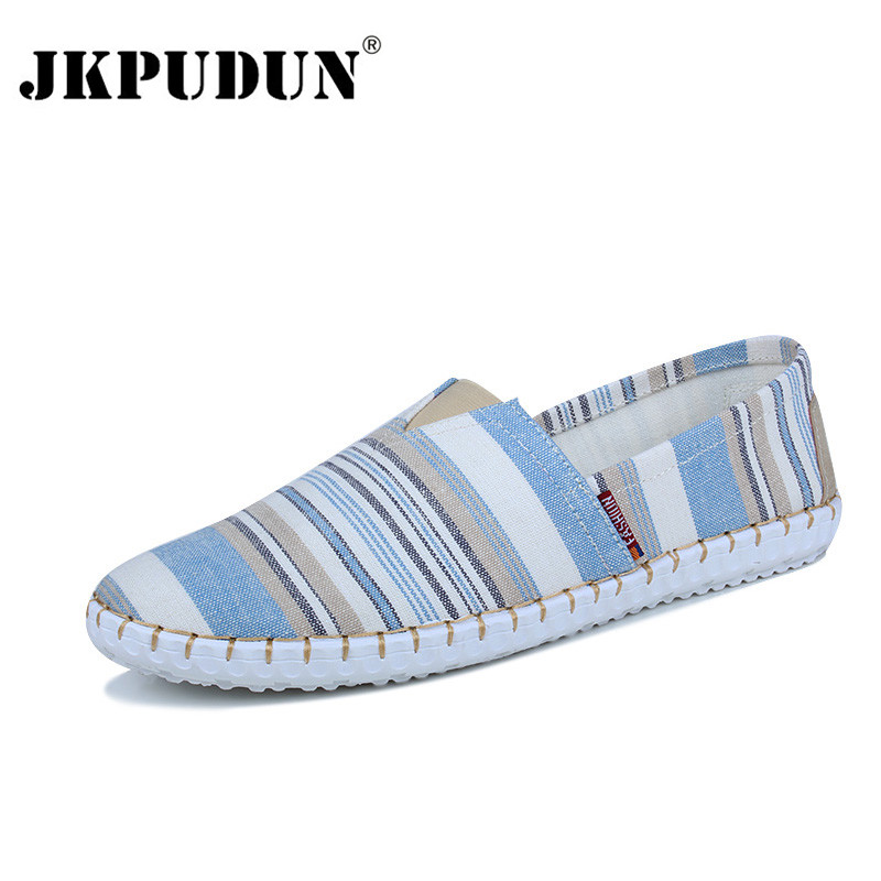 Men/'s Casual Canvas Classic Outdoor Breathable Shoes Slip On Loafers Sneakers JK