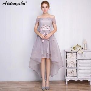 19a78f02888 aixiangsha Prom Dresses 2018 Short Prom Dress Elegant gala