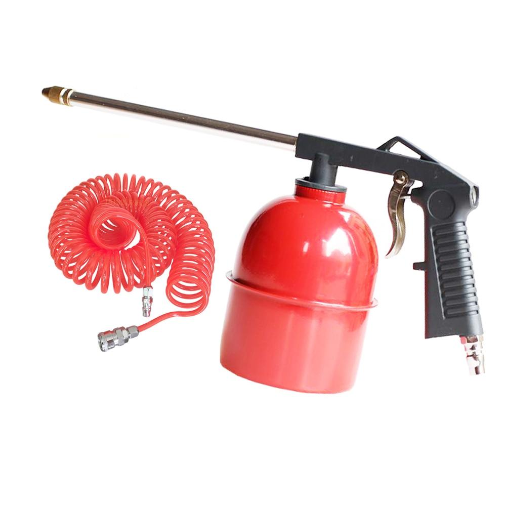 Car Engine Cleaner Duster Blower Water Gun 750ml Kettle 6M Tube Air Tool Kit