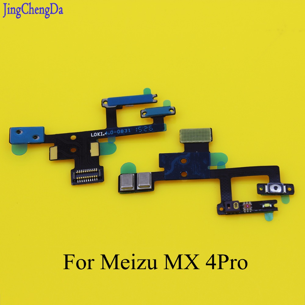 Jing Cheng Da NEW for Meizu MX4 Pro mx 4 Power ON OFF Button Proximity Light Sensor Microphone Flex Cable Mobile Phone
