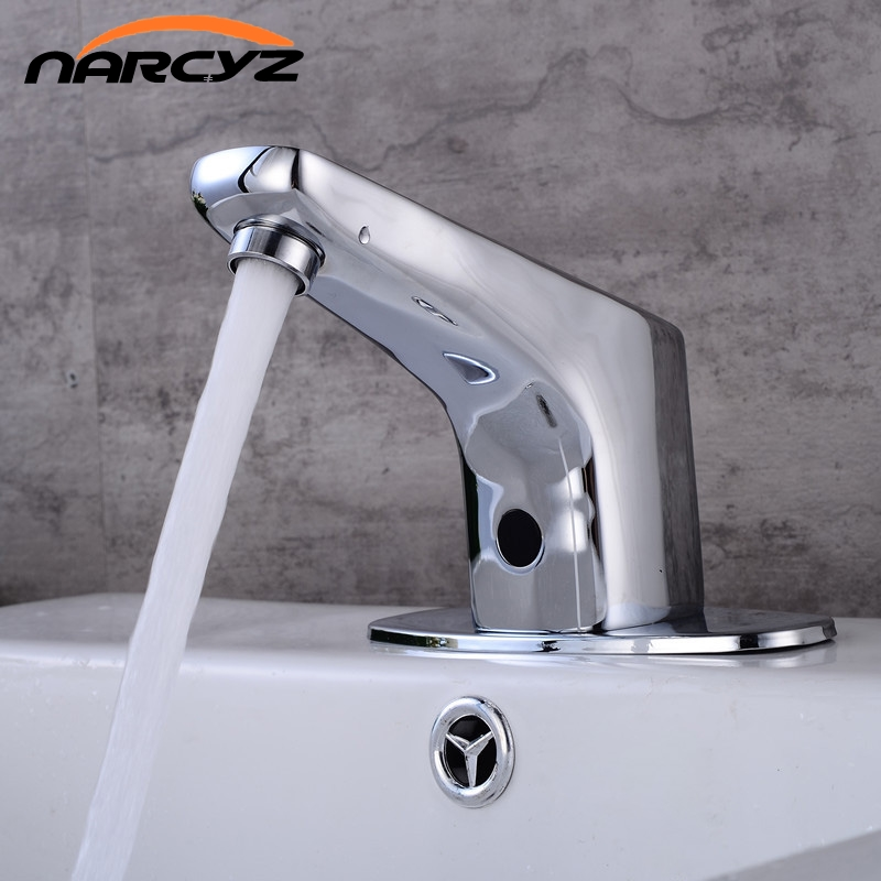 Здесь продается  New arrive Hot and cold automatic under the basin of the sensor faucet infrared intelligent sensor washing hand faucet XR8853  Строительство и Недвижимость