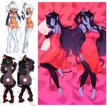 Monster Musume monster girl encyclopedia HYAKURAN Tionishia demon pillow cover anime Dakimakura body Pillowcase Otaku