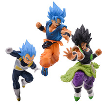 Amine Doll Dragon Ball Z ULTIMATE SOLDIERS SUPER Broly Broli Son Goku Vegeta PVC Action Figure Toys