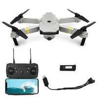 Foldable RC Selfie Drone Quadcopter Aircraft UAV with 1080P WIFI FPV Camera Altitude Hold 360' Flips Headless Mode RC Helicopter