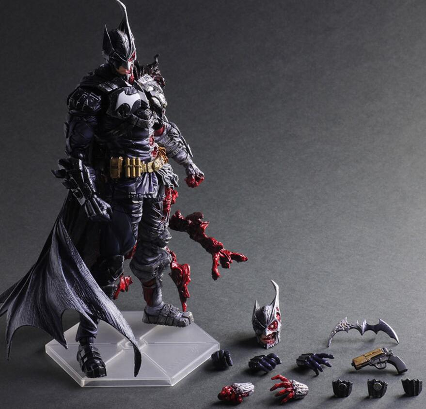 Batman Action Figure Two-Face Harvey Apollo dent Play Arts Kai PVC Figure 270mm Anime Bat Man Playarts Kai Rogues Gallery Model original ulka ep5 electromagnetic coffee machine medical apparatus pumps