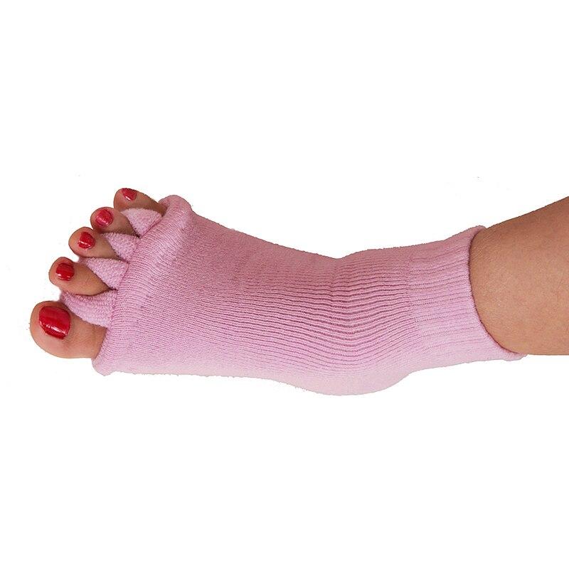1Pair Five Toe Socks Bunion Corrector Orthotics Separators for Hallux Valgus Pain Relief Foot Care Pedicure Tools