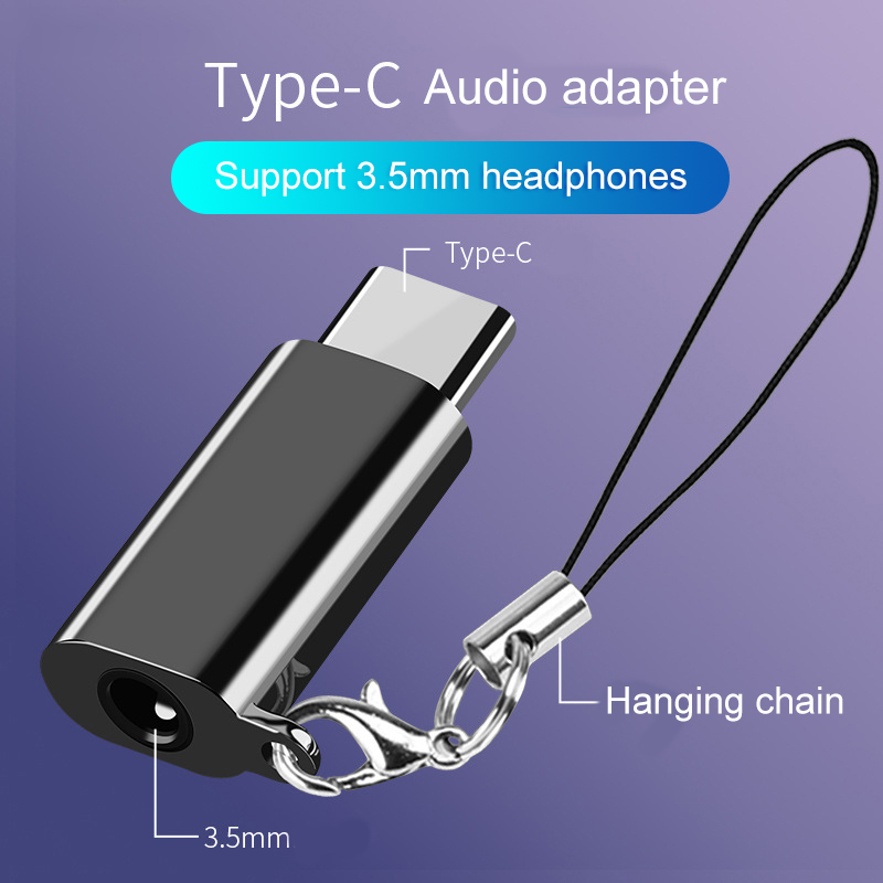 Type C To 3.5mm Jack Earphone Headset Adapter For Samsung Galaxy S8 S9 USB C Aux Audio Adapter For Huawei P20 P20Pro Xiaomi Mi 6