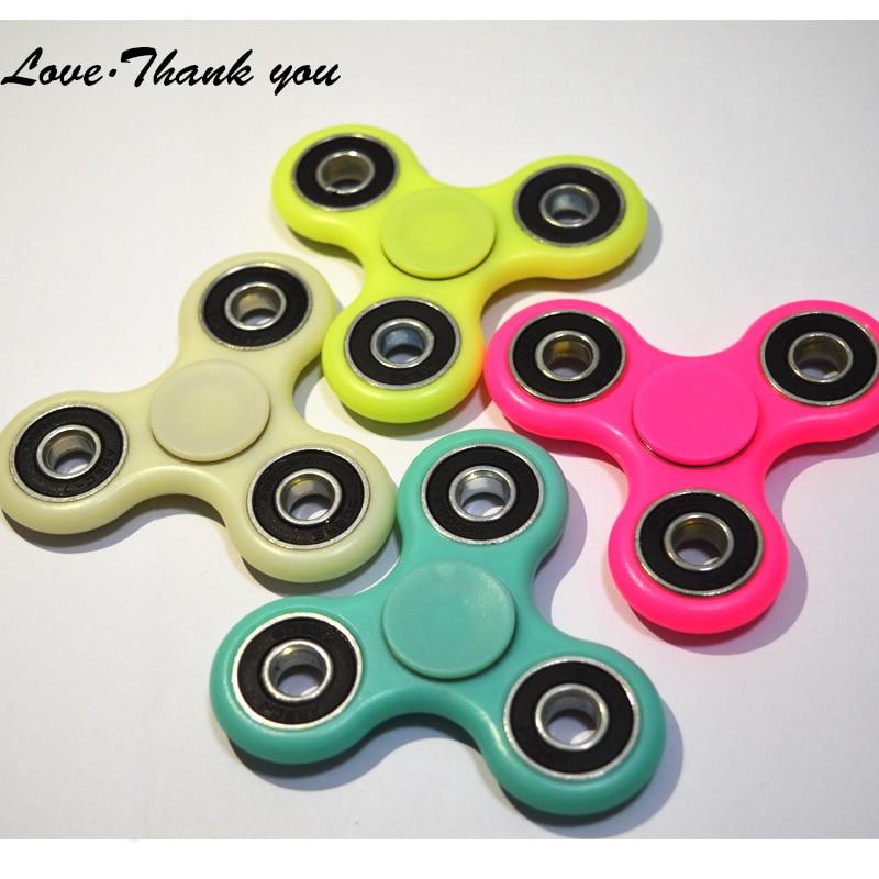 Любовь спасибо анти-стресс руку спинер Непоседа игрушка ABS Серебристые спинер Непоседа для аутизма и СДВГ высокая скорость ручной спиннер