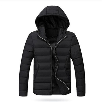 2020 Winter Men Down & Parkas Cotton-padded Jackets Men' s Casual Down Jackets Thicken Coats OverCoat Warm Clothing Big 5XL