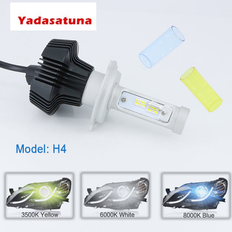 Super Bright Spot Headlight Bulb <font><b>H4</b></font> H7 H11 <font><b>Led</b></font> Bulbs Headlights Canbus 16000LM 12V <font><b>Led</b></font> H7 CSP Lamp Auto Light 4300K 6000K <font><b>10000K</b></font> image