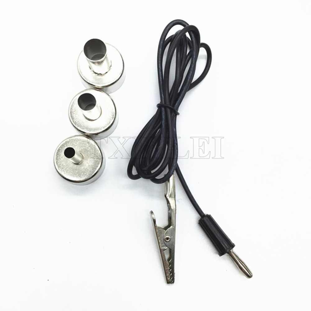 Фен горячий воздушный пистолет для снятия припоя паяльная SMD станция 858D + 60 Вт Регулируемая температура Электрический паяльник