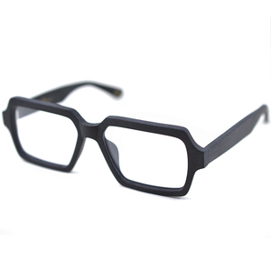 Image 3 - Posesion עץ גברים נשים משקפיים מסגרות כיכר גדול מרשם משקפיים אופטיים מסגרות לגברים oculos דה גראו