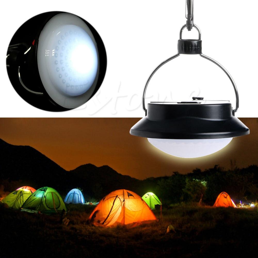 Camping Outdoor Light 60 LED Portable Tent Umbrella Night Lamp Hiking Lantern