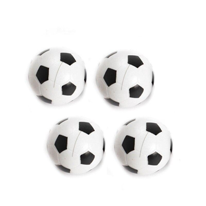 New 4 Pcs/Set 32mm Plastic Soccer Table Foosball Ball Fussball Children Kids Toy XD88