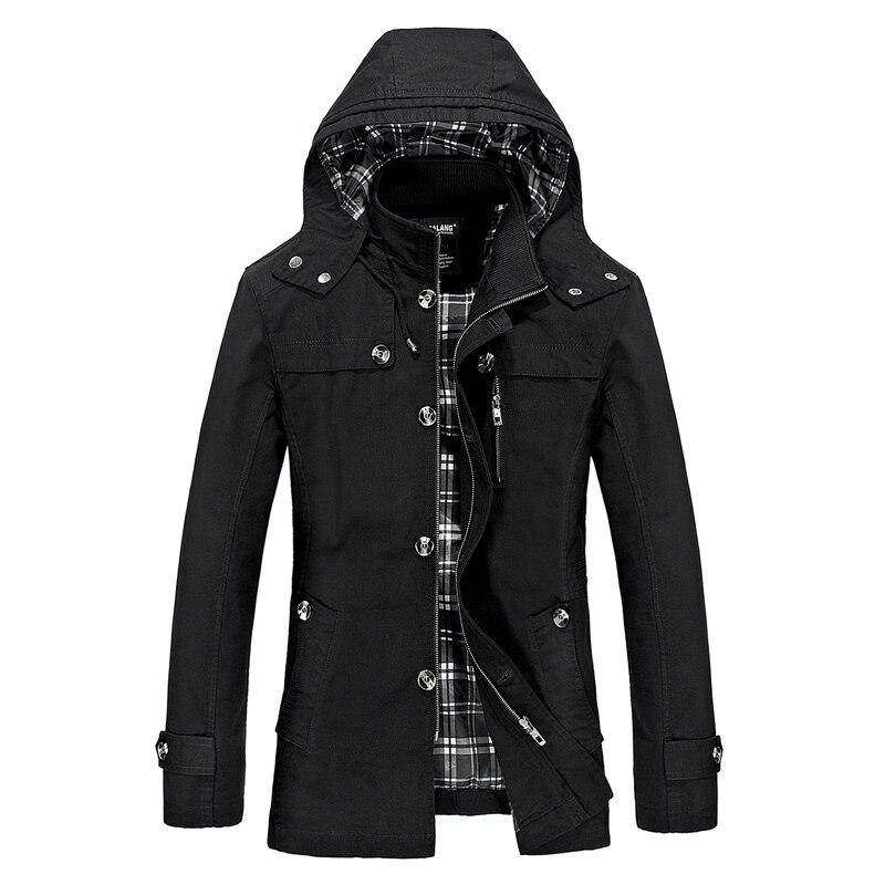 Capuche homme veste manteau coupe-vent noir homme Couple vestes manteaux 2019 mode Zipper unisexe Streetwear capuche