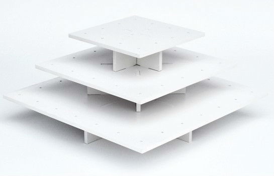 display stand 3 tier