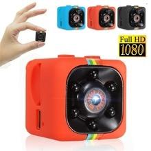 лучшая цена Super Mini DV Camera Metal SQ11 HD 1080P Movement  Infrared Light Night Vision Aerial Video Camcorder