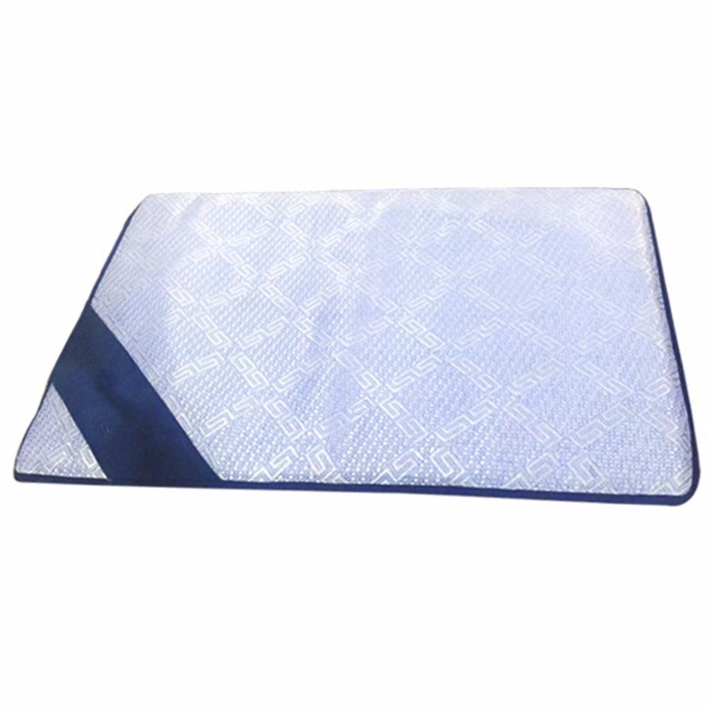 Summer Pet Dog Cooling Mat Ice Mattress Floor Mat Sleeping Bed Cushion Pad Anti Damp Foam S M L