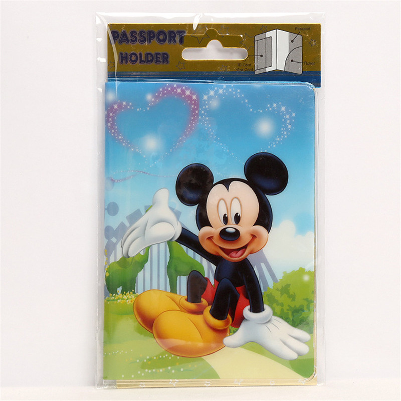 Luggage & Bags Fashion Spongebob Squarepants Passport Cover Pvc Id Holders Travel Documents Bag Cute Cartoon Passport Holder Card Case 14*9.5cm Card & Id Holders