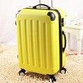 20 24 28 conjuntos de bagagem de viagem abs pc, Estilo tiras bagagem sacos de viagem, Masculino sacos de viagem hardside