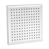 7 Color Changing 8 Inch Chrome Finish Rainfall Square LED Shower Head Lighting Bathroom ShowerWater Saving Bath Shower Brand New