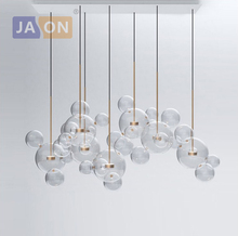 LED Postmodern Nordic Iron Glass Bubbles Designer Lamp Light.Pendant Lights.Pendant Lamp.Pendant light For Dinning Room