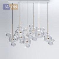 LED Postmodern Nordic Iron Glass Bubbles Designer LED Lamp LED Light Pendant Lights Pendant Lamp Pendant