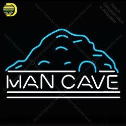 Człowiek jaskinia neon Uk Rec neon szklana rurka żarówka ikony wyświetlacz lampy szyld ręcznie lampa neonowa do ściany pokoju
