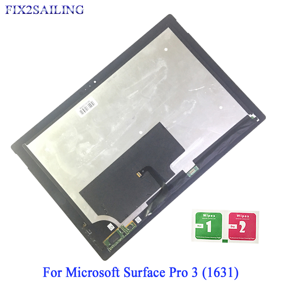 For Microsoft Surface Pro 3 LCD Display Touch Screen Digitizer For Surface Pro 3 (1631) TOM12H20 V1.1 LTL120QL01 003 LCD Panel(China)