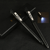 HYBON Linterna Defensa Personal Self Defence Pen Bandouillere Tactique With Couteau Tactique Lueur Tactical Pen Dropship