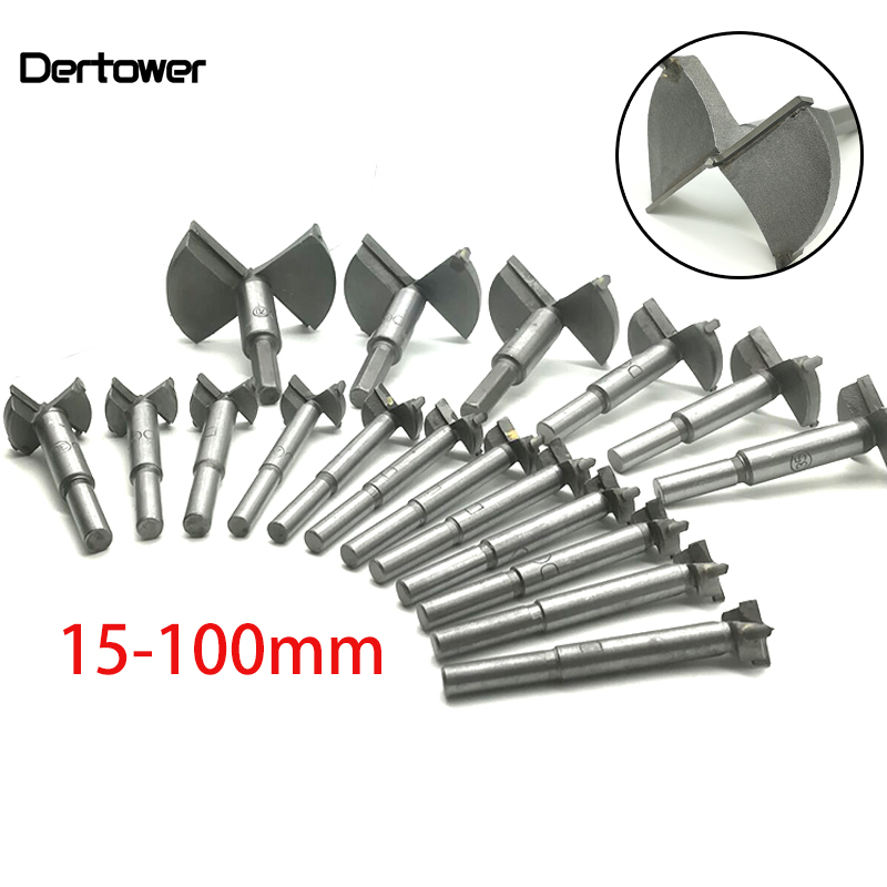 Forstner Wood Drill Bit Self Centering Hole Saw Cutter Woodworking Tools Set 15mm,20mm,25mm,30mm,35mm Hinge Forstner Bits DT2